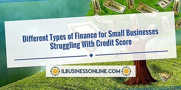 Kategori penge og gæld: Typer af Business Finance