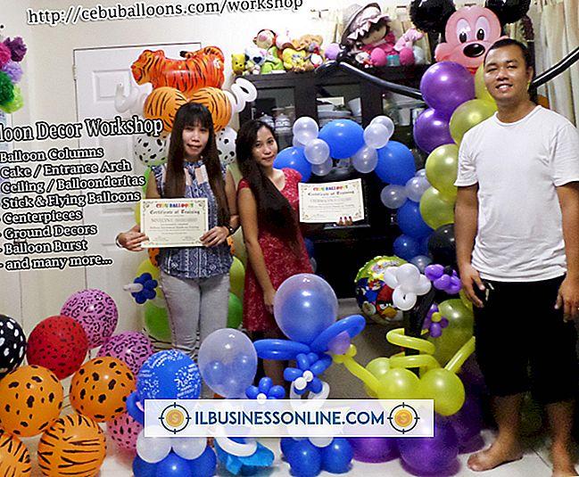 Welke apparatuur is nodig voor een ballonhandel?