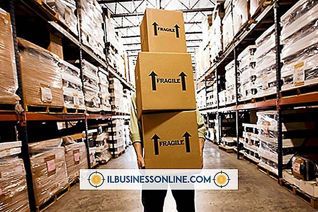 Rozpoczynać biznes - Jakie rodzaje zapasów należy przechowywać w magazynie?