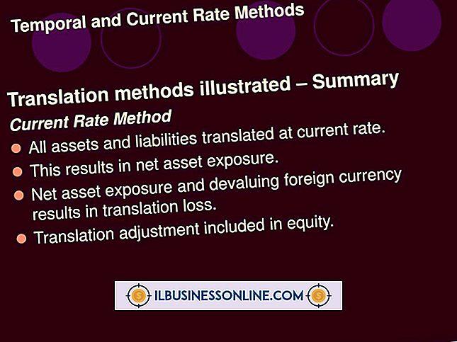 Utenlandske valuta oversettelsesmetoder