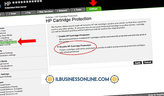 Categoría administrar un negocio: Cómo deshabilitar los temporizadores para tinta HP