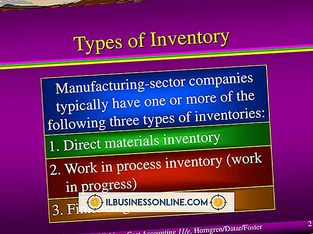 driver en bedrift - Typer Inventory Strategies