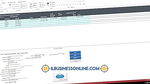 Kategori kører en virksomhed: Eksempler på Inventory Control Databaser i Access