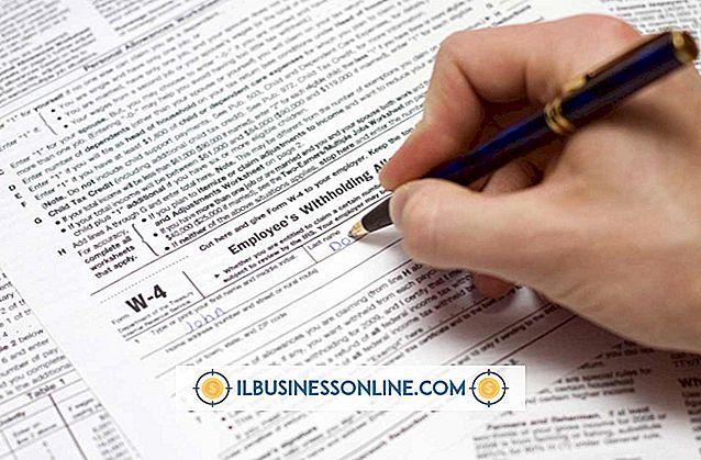 Cómo presentar formularios W-2 para un negocio en casa