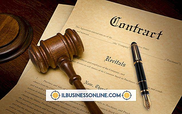 Hvordan skrive opp en juridisk bindende kontrakt
