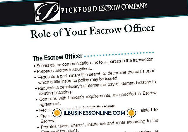 범주 사업 운영: 귀하의 비즈니스 판매시 에스크로 프로세스