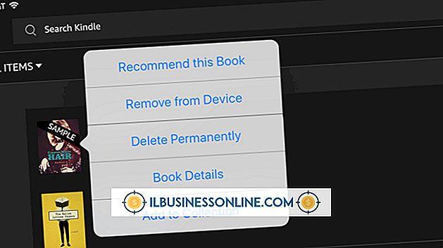 Sådan sletter du de uønskede prøver fra en Kindle E-Book