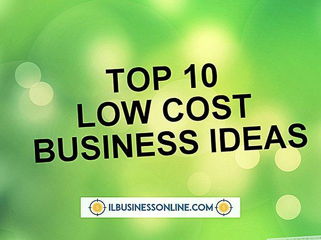 Store forretningsidéer med lav startpris
