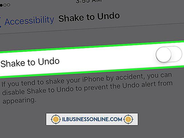 estableciendo un nuevo negocio - Cómo deshacer en el iPhone