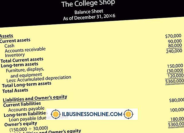 O que é um balanço anual para um pequeno negócio?
