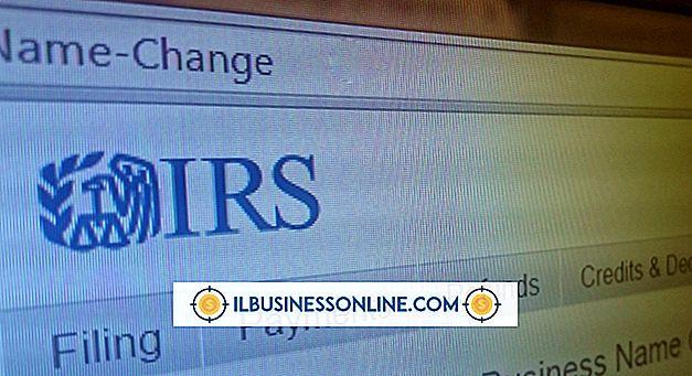 Sådan ændrer du et firmanavn til en EIN