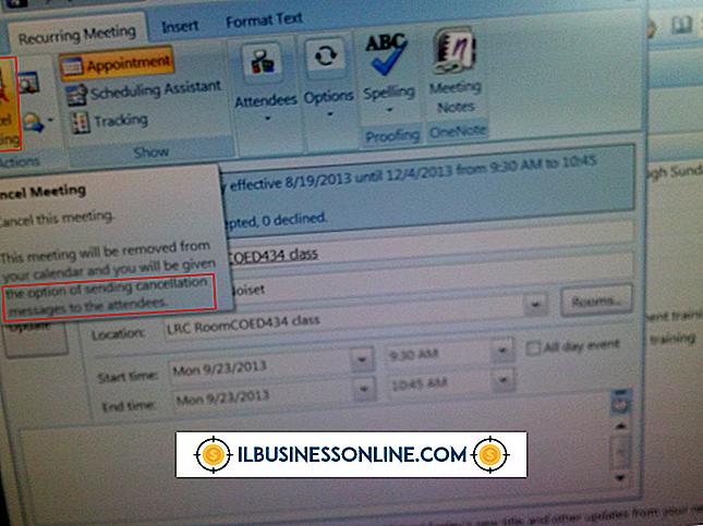 범주 새로운 사업을 세우다.: 삭제되지 않는 Outlook 모임 알림을 취소하는 방법