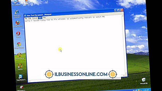 Cómo arreglar Windows XP desde el reinicio automático desde el inicio