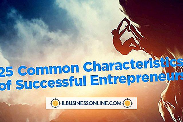 ein neues Geschäft aufbauen - Was sind die typischen Merkmale und Merkmale von Unternehmern?