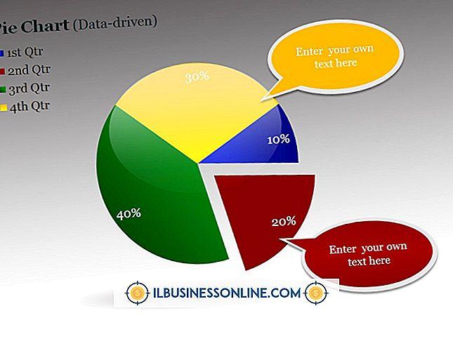 Sådan ændres farven på et cirkeldiagram i PowerPoint