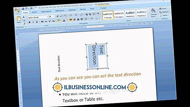 So drehen Sie Buchstaben in Microsoft Word 2010