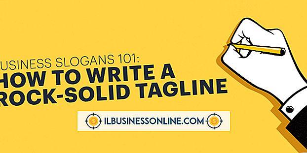 Hvordan skrive en kraftig tagline