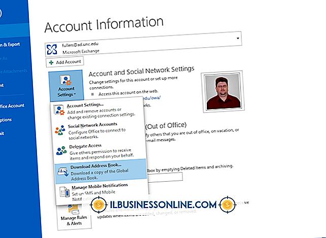 Outlook Web Accessでグローバルアドレス帳をダウンロードする方法