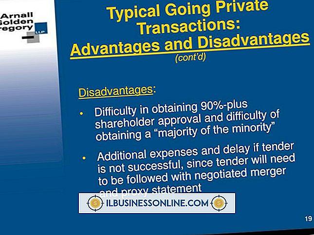 Kategori sette opp en ny virksomhet: Ulempene ved Private Equity