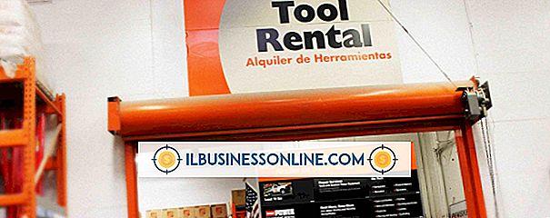 Kategori sette opp en ny virksomhet: Utstyr Utleie Forretningsidéer