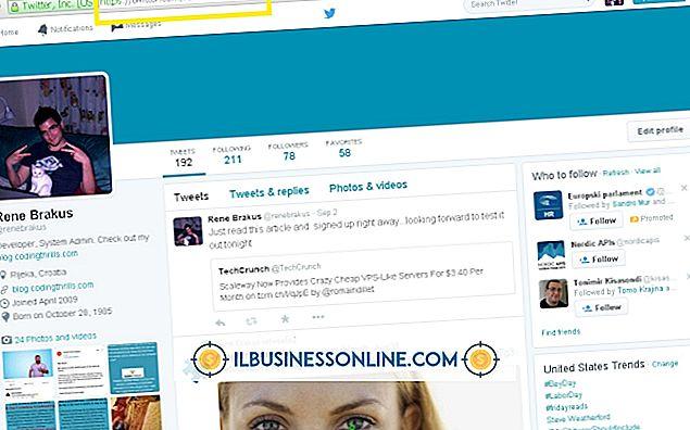 ein neues Geschäft aufbauen - So finden Sie Ihre Twitter-URL