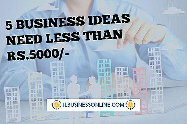 ein neues Geschäft aufbauen - Welche Art von Geschäft kann mit weniger als 5.000 Dollar begonnen werden?