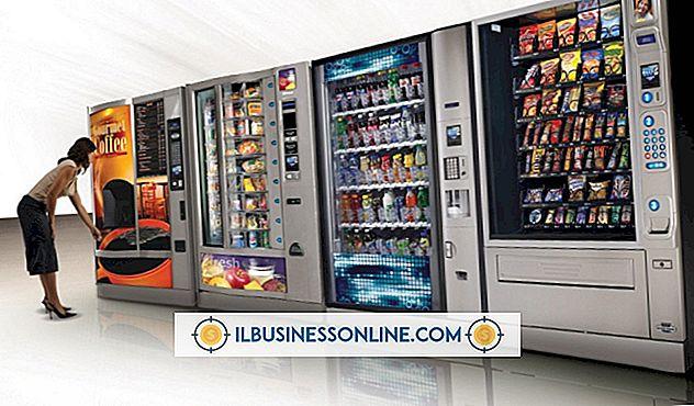 Sobre el negocio de la máquina expendedora