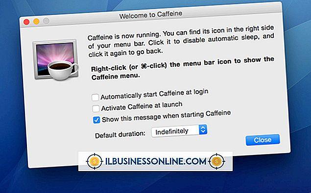 Categoria tipos de empresas para começar: Quais são as direções para o Cafeína App em um Mac?