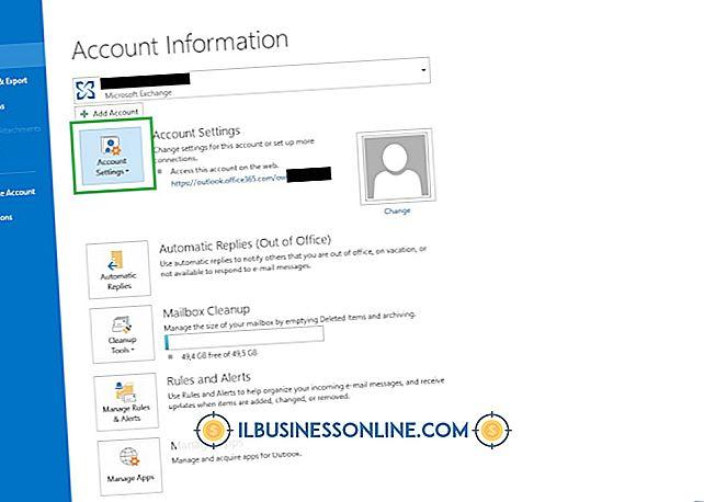 Cómo cambiar los buzones predeterminados en Outlook