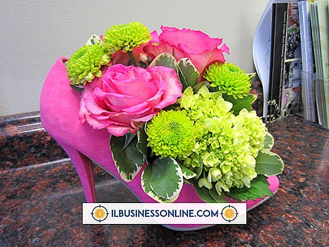 एक व्यापार समारोह के लिए फूल Centerpieces