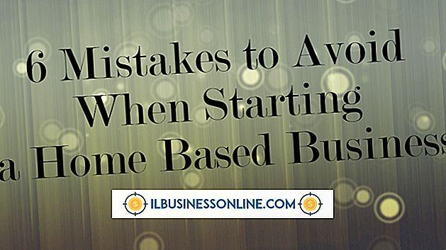 Consejos de inicio de negocios basados en el hogar
