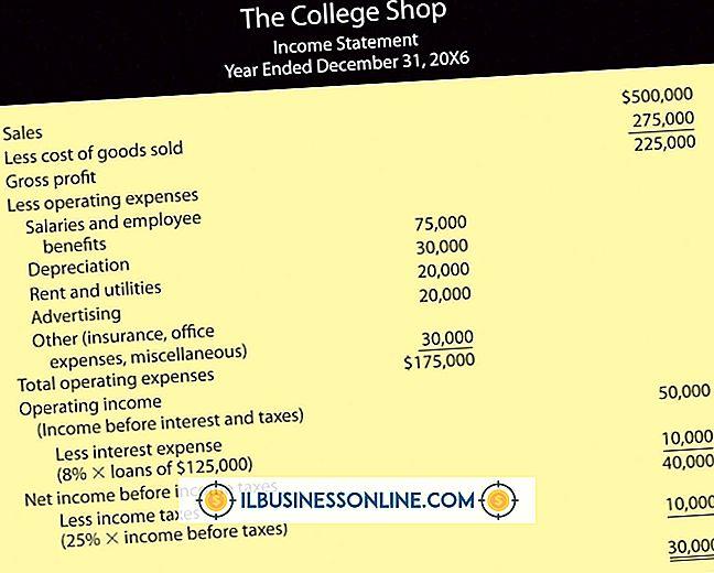 कारोबार शुरू करने के प्रकार - आय विवरण के दो प्रकार क्या हैं?