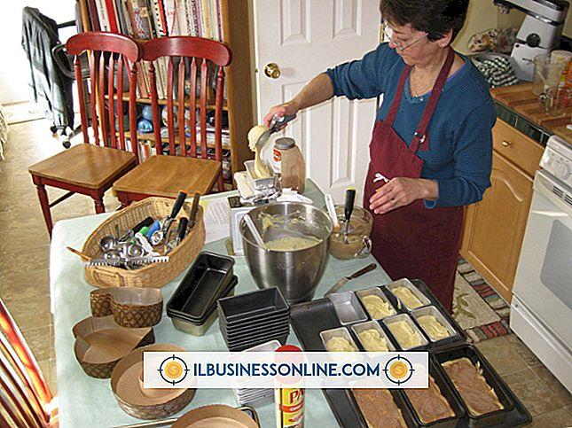 Hvilket utstyr trenger du å starte et hjemmebasert bakeri?