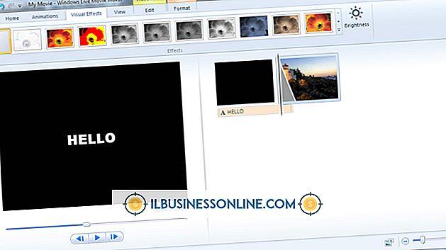 कारोबार शुरू करने के प्रकार - विंडोज मूवी मेकर में टाइप कैसे करें